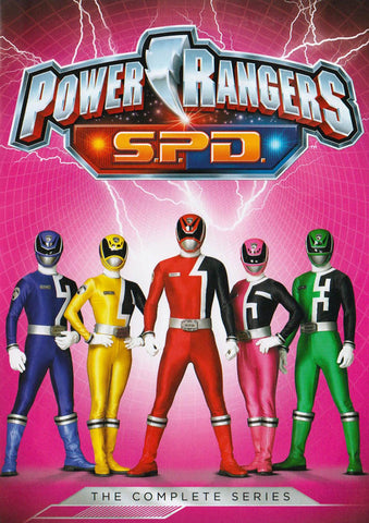 Power Rangers: S.P.D. - The Complete Series (Keepcase) DVD Movie