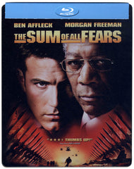 The Sum of All Fears (Steelbook) (Bilingual) (Blu-ray)