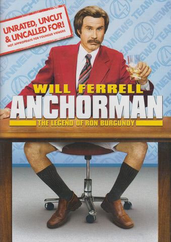 Anchorman - The Legend of Ron Burgundy DVD Movie