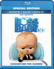 The Boss Baby (Special Edition) (3D + Blu-ray) (Blu-ray)