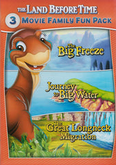The Land Before Time (The Big Freeze / Journey to Big Water / Great Longneck Migration) (3-Movie)