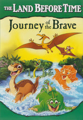 The Land Before Time - Journey of the Brave (Green Spine)