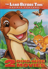 The Land Before Time - 2 Dino Movies (Double Feature)