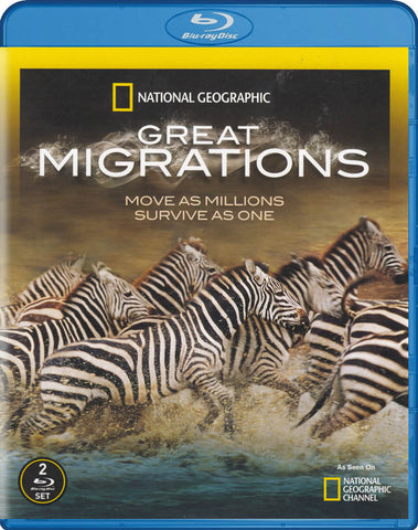 National Geographic: Great Migrations (Blu-ray) BLU-RAY Movie