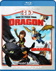 How To Train Your Dragon (Blu-ray 3D + DVD) (Blu-ray) (Bilingual)