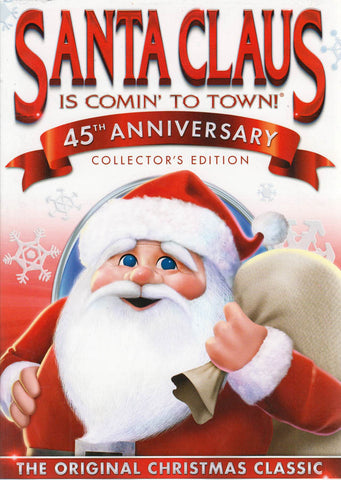 Santa Claus Is Comin' to Town 45th Anniversary (Collector's Edition) DVD Movie