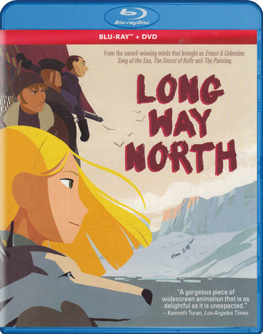 Long Way North (Blu-ray) BLU-RAY Movie