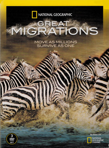 National Geographic - Great Migrations (3-DVD Set) DVD Movie
