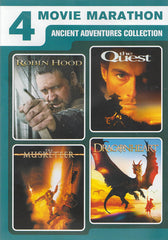 4 Ancient Adventures Collection (Robin Hood / The Quest / The Musketeer / Dragon Heart)