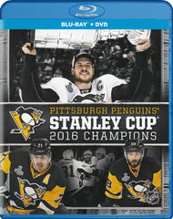 Penguins de Pittsburgh: Coupe Stanley - Champions 2016 (Blu-ray + DVD) (Blu-ray)