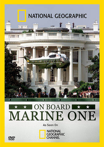 On Board Marine One (National Geographic) DVD Movie