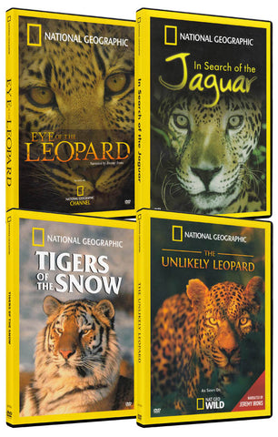 National Geographic Animals Pack (4-Pack) DVD Movie