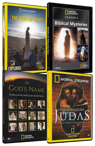 National Geographic Religion Pack (4-Pack) DVD Movie
