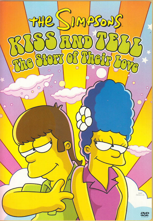 The Simpsons Kiss And Tell The Story Of Their Love On Dvd Movie