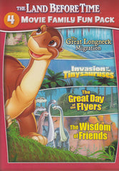 The Land Before Time - ( 4 Movies Family Fun Pack)