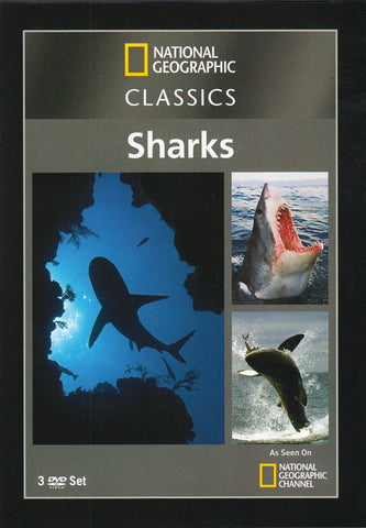National Geographic Classics - Sharks DVD Movie