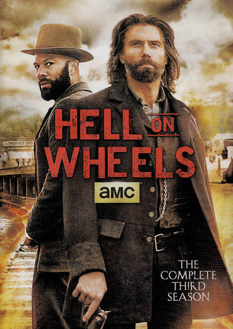 Hell On Wheels - The Complete Season 3 DVD Movie