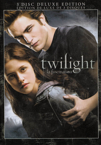 Twilight (Three-Disc Deluxe Edition) (Keepcase) (Bilingual) DVD Movie