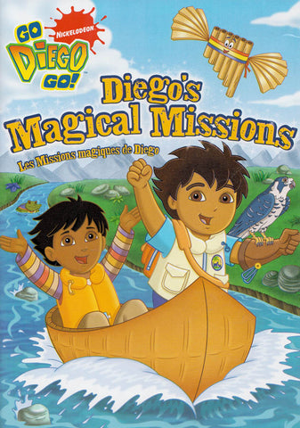 Go Diego Go! - Diego s Magical Missions (Bilingual) DVD Movie