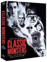 Universal Classic Monsters: The Essential Collection (Blu-ray) (Bilingual) (Boxset)