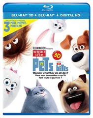 The Secret Life Of Pets (Blu-ray 3D + Blu-ray + Digital HD) (Blu-ray) (Bilingual)