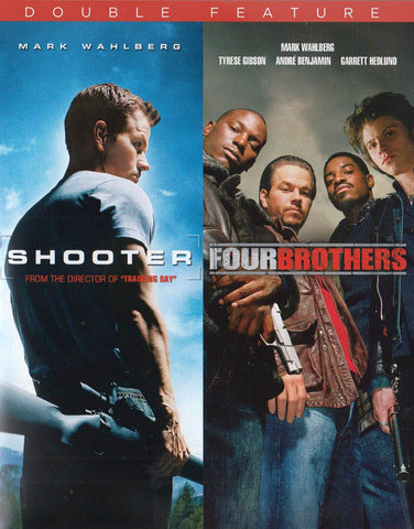 Shooter / Four Brothers (Double Feature) DVD Movie