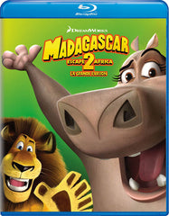 Madagascar - Escape 2 Africa (Blu-ray) (Bilingual)