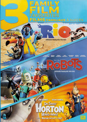 Rio / Robots / Dr. SeussHorton Hears A Who (Bilingual) (Triple Feature)