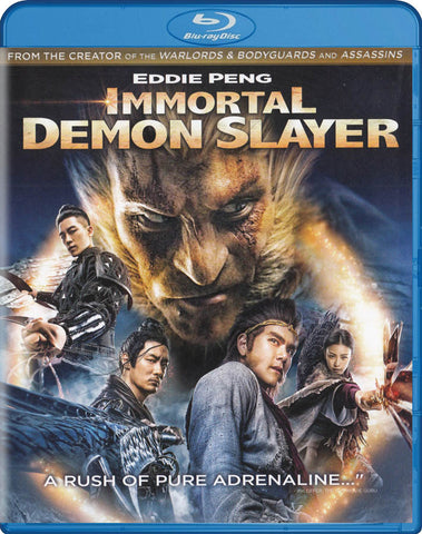 Immortal Demon Slayer (Blu-ray) BLU-RAY Movie
