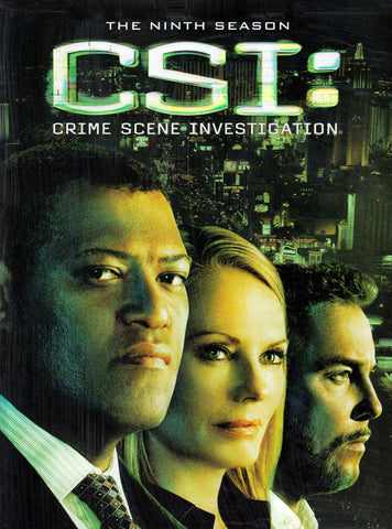 CSI : Crime Scene Investigation - Season 9 (Boxset) DVD Movie
