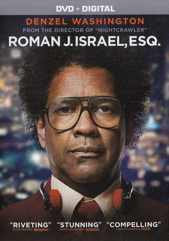 Roman J. Israel, Esq. (DVD + Digital) DVD Movie