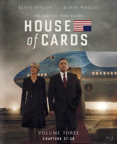House of Cards - The Complete Season 3 : Volume 3 (Blu-ray) (Boxset) BLU-RAY Movie