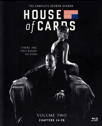 House of Cards - The Complete Season 2 : Volume 2 (Blu-ray) (Boxset) BLU-RAY Movie