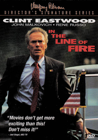 Film DVD In The Line Of Fire (Série Signature du réalisateur)
