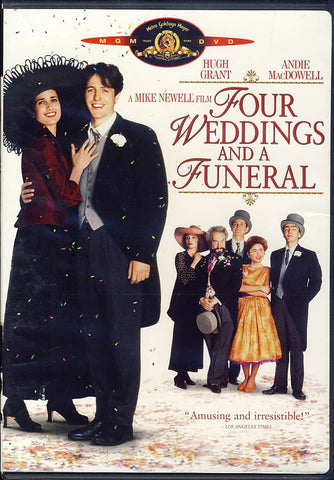 Four Weddings And A Funeral DVD Movie