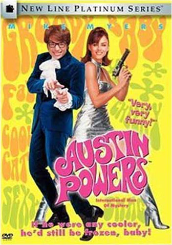 Austin Powers - Man Of Mystery (série New Line Platinum) (Keepcase) (Bilingue) DVD Film