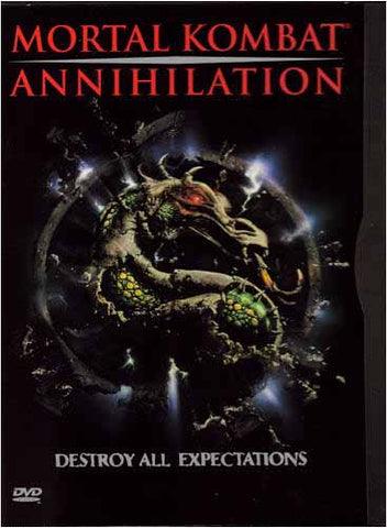 Mortal Kombat - Annihilation (Bilingual) DVD Movie