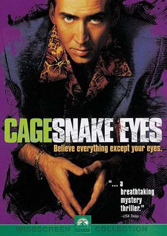 Snake Eyes DVD Movie