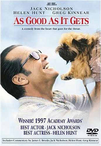 As Good As It Gets DVD Movie