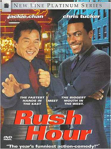 Rush Hour (Bilingual) DVD Movie