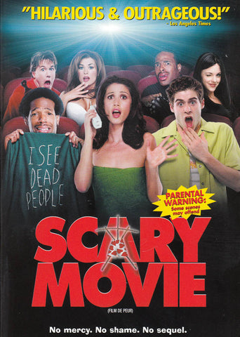 Scary Movie (Bilingual) DVD Movie
