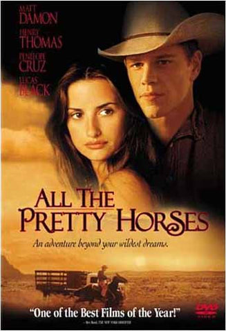 All the Pretty Horses DVD Movie