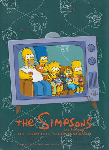 The Simpsons / Les Simpson - The Complete Second Season (Collector s Edition) (Bilingual) (Boxset) DVD Movie