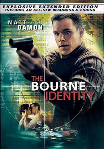 Le film DVD The Bourne Identity (Widescreen Extended Edition)
