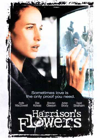 Harrison's Flowers DVD Film