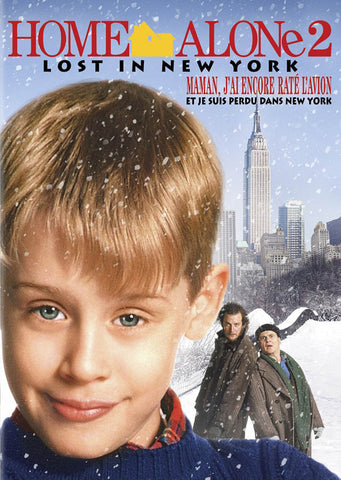 Home Alone 2 - Lost In New York (Maman, J ai Encore Rate L Avion) (2013 Version) DVD Movie