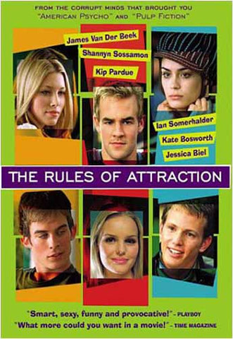 The Rules of Attraction DVD Movie