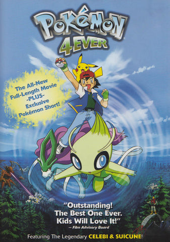 Pokemon 4 Ever (Fullscreen) DVD Movie