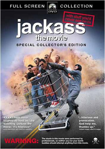 Jackass - The Movie (Full Screen Special Collector's Edition) DVD Movie