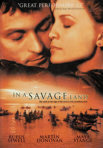 In a Savage Land DVD Movie